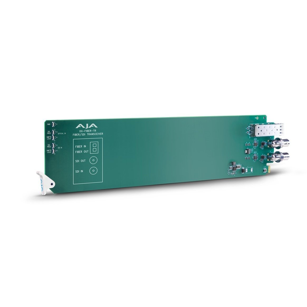 AJA openGear 1-channel SDI/Fiber to Fiber/SDI Converter (OG-FIBER-TR)