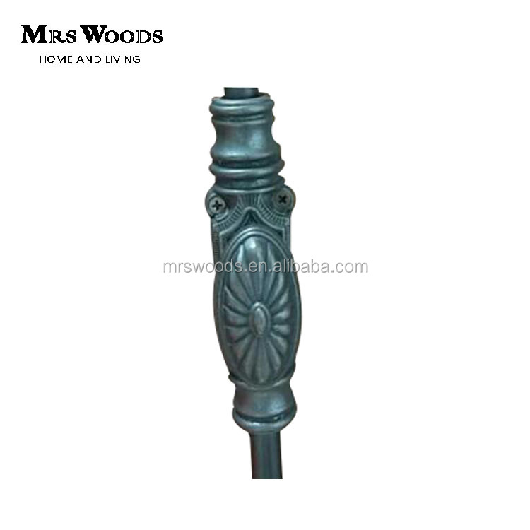 antique style zinc cremone bolt for cupboard furniture hardware fittings