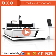 Stainless Steel / Iron / Copper /metal laser cutting machine with 3 years warranty