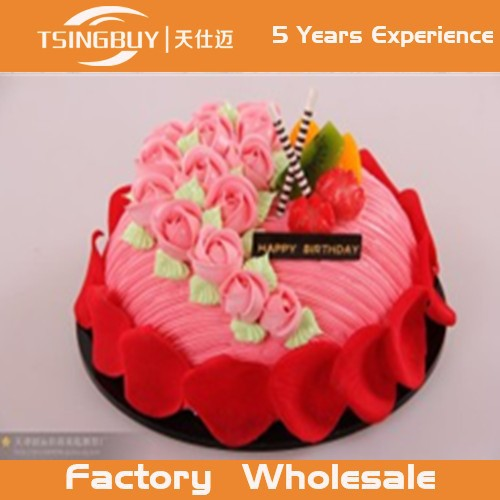 High Quality Professional Design Customized Hot Pink Fake Faux Birthday Cake Dummy Cakes Model For CakeMaestro
