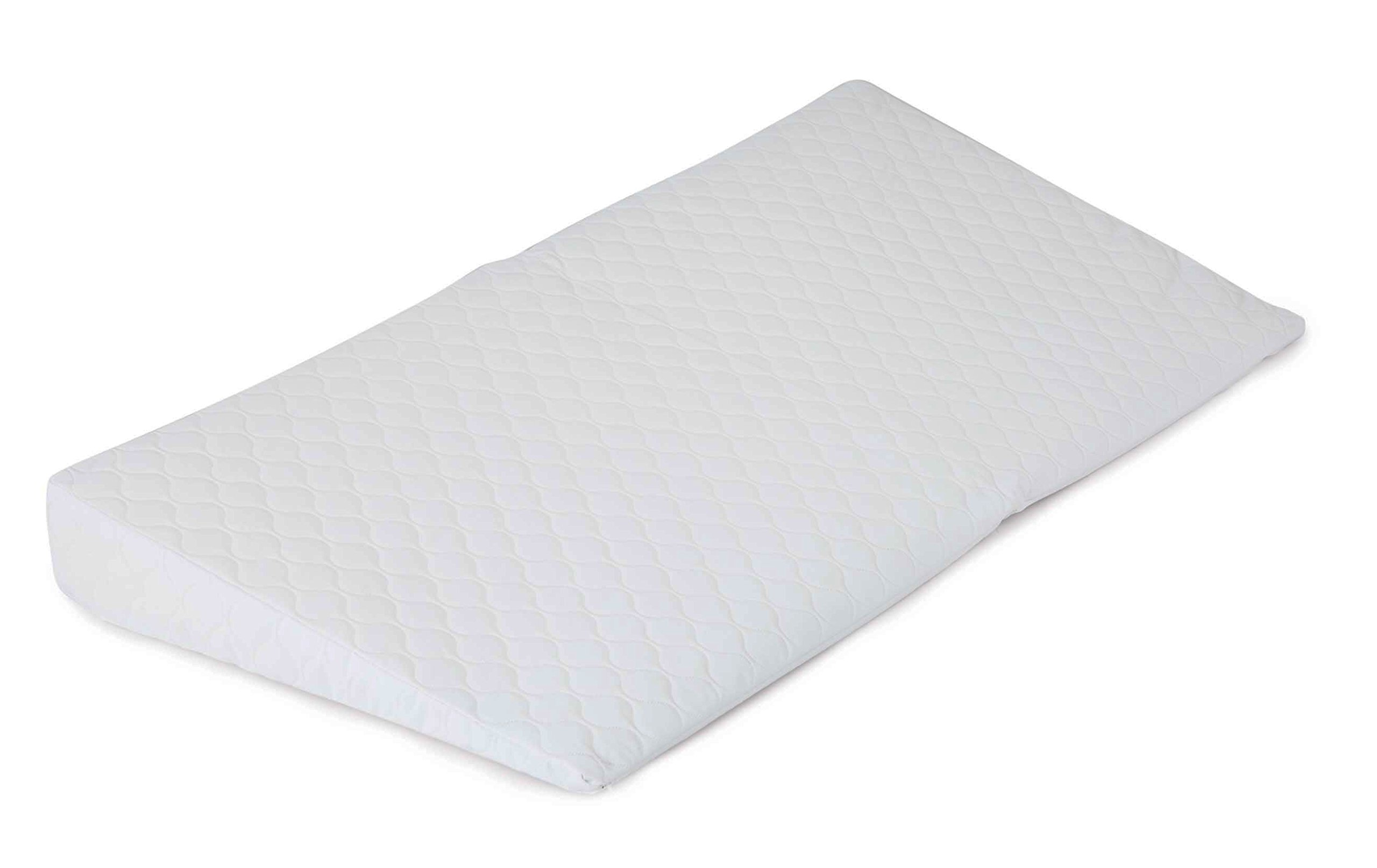Reste Baby Crib Mattress Wedge - Helps Safely Increase Incline of Sleep to Reduce Acid Reflux and Help Baby Sleep Better - Universal Crib Fit - Foldable, Waterproof Design