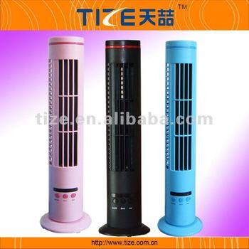 blattloser ministandplatzventilator tz usb380 usb oszillierender fantastischer deckenventilator - Blattloser Deckenventilator