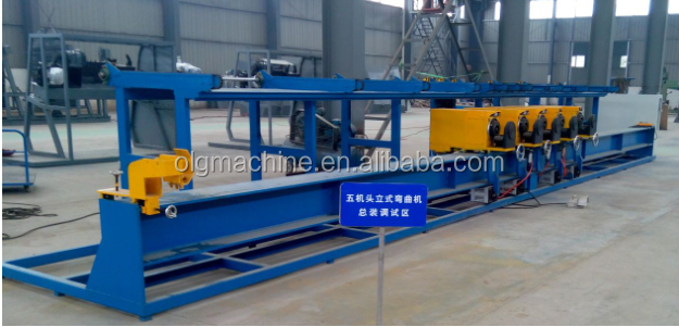 Construction CNC five head reinforced bar cutter and bender with good quality and reasonable price