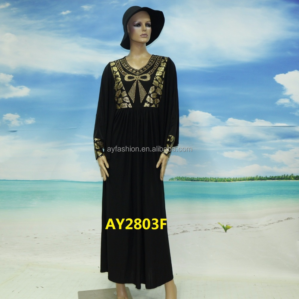 Muslim Jubah Embroidered Black Saudi Butterfly Abaya Wholesale