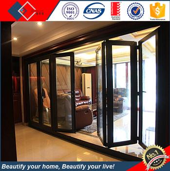 New Style Customized Aluminum Bi Folding Door Ghana Aluminium Sliding
