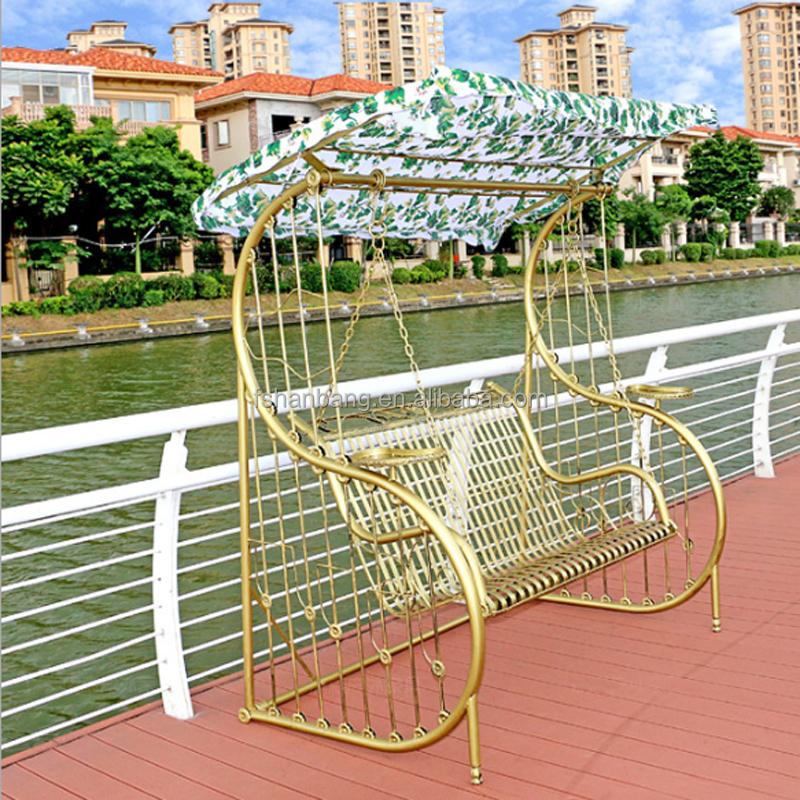 Patio smeedijzeren balkon volwassenen metalen veranda schommel stoel frame sets patio schommels - Leuningen smeedijzeren patio ...