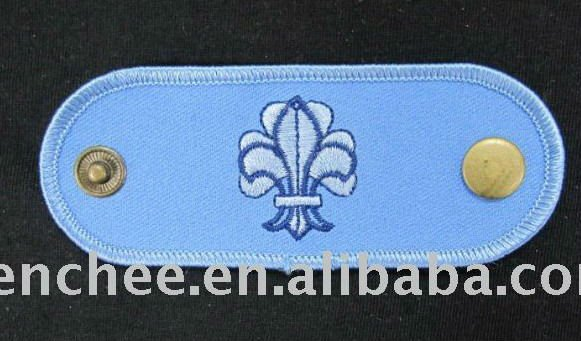 Embroidered Patches - Iron-on / PVC Scout Symbol Accessory for Boy/Girl Scounts (Patch/Emblem/Badge/Label/Crest/Insignia)