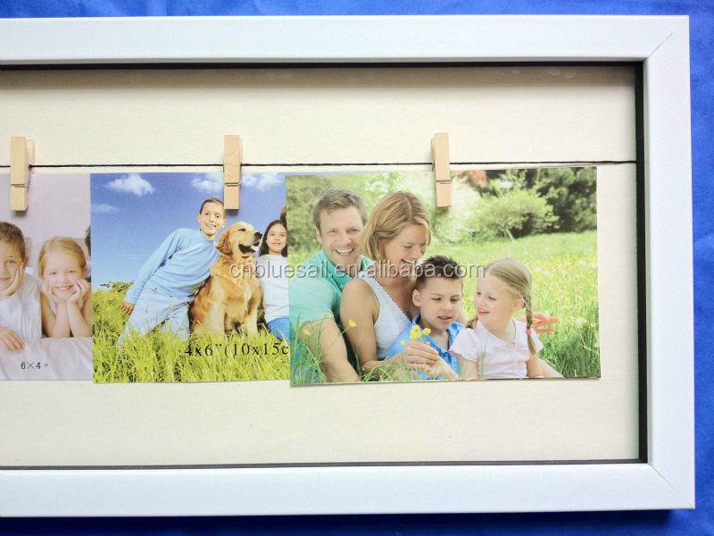 Holz Seil Fotorahmen,Seil Bilderrahmen,Seilklemme Multi Frame - Buy ...