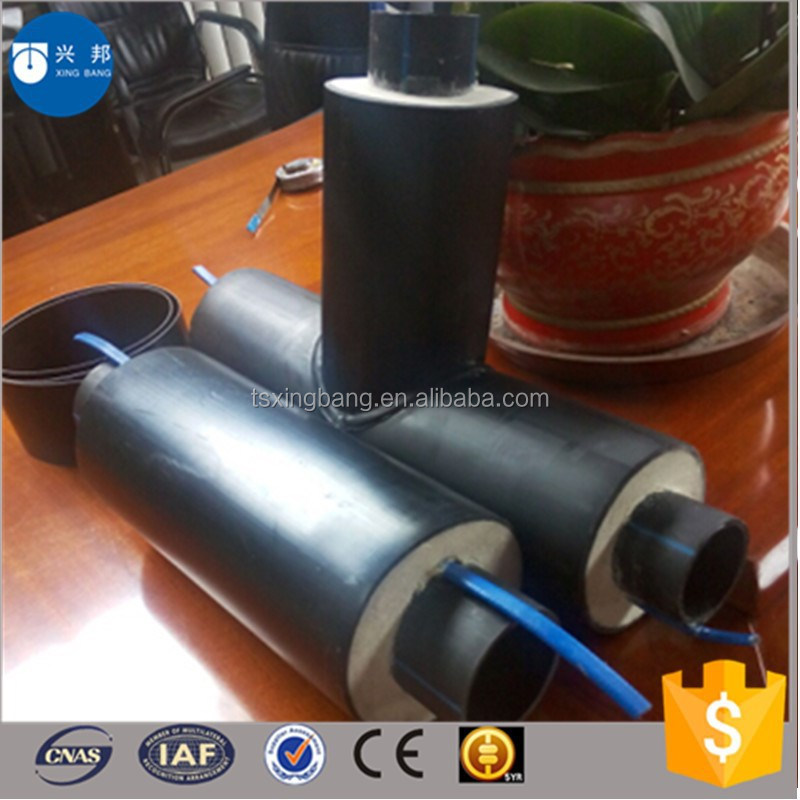New design pe water pipe with alarm line and insulation material inside for drinking water supply