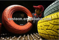 color car tyre red green blue yellow