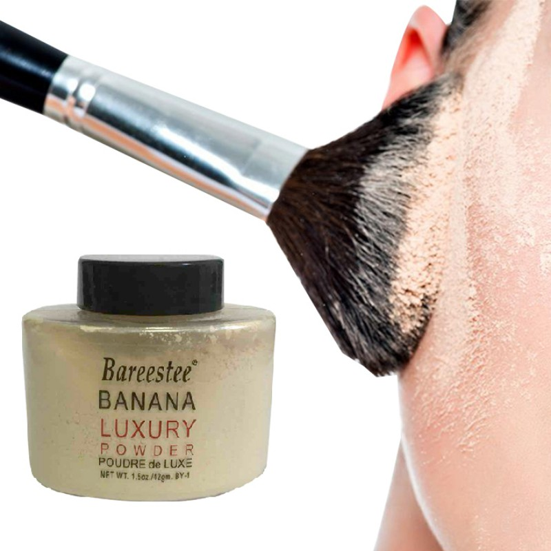 Hot Brand Luxury Banana Powder Loose Foundation Beauty Makeup Highlighter