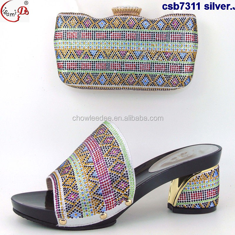 and bag csb7311 available wholesale Best wedding shoes and african in black bag selling African italian stock shoes Awcc16fOq