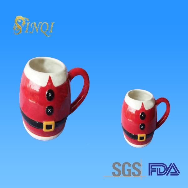 Cheap Christmas Kids Ceramic Paintable Ceramics Mug