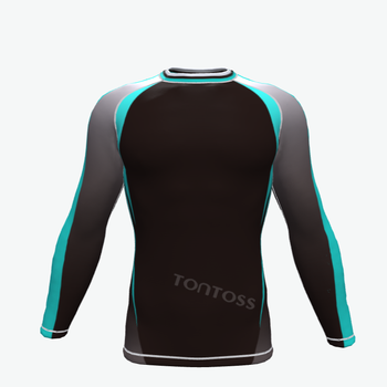 Wholesale youth compression rash guard long sleeve sun men t shirts