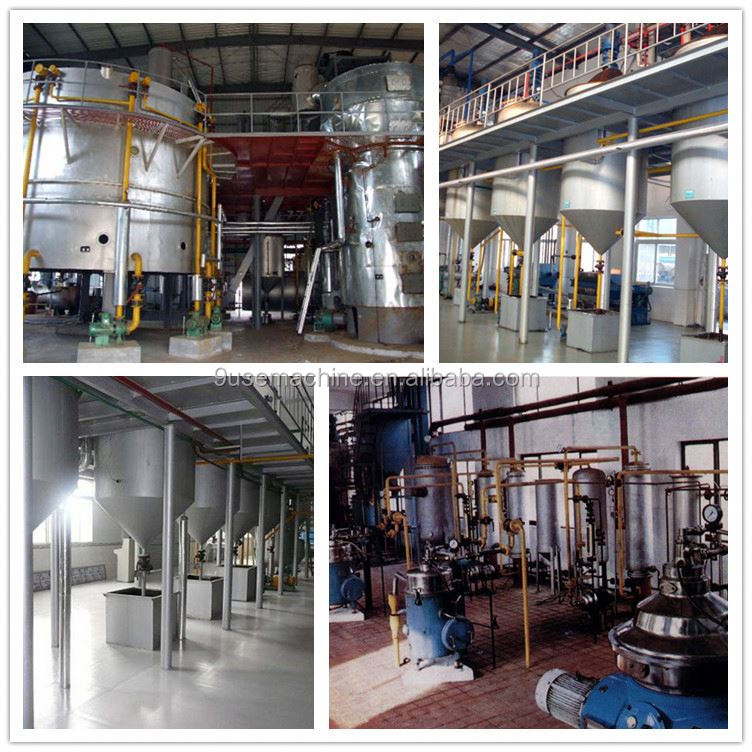 Automatic new condition edible oil refinery equipment safflower oil extraction machine