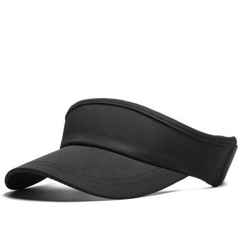 custom black grey light blue blank sun visor hats plain sports football visor  cap tennis hat e39bc1e77f9e