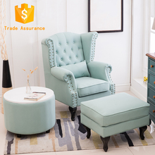 Hot Sale Home Furniture Pu Leather sofa chair living room soft comfortable sofa set