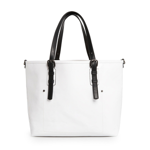 SP0625 Eco White Shopping Bags Ladies Tote Bag For Promotional