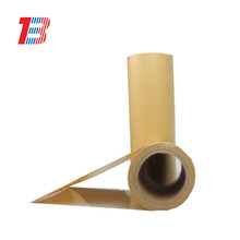 High quality Yellow Release Paper Rolls 100% wood pulp kraft paper