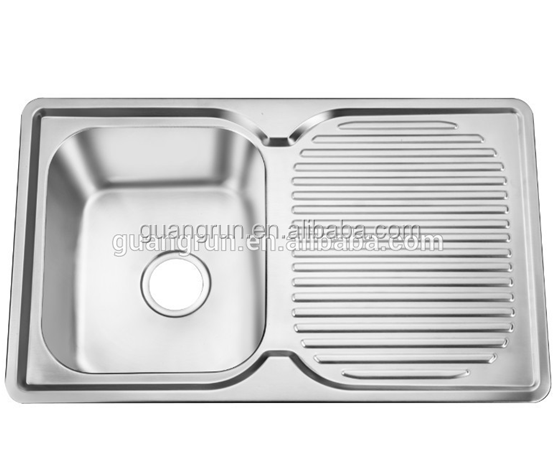Caravan Stainless Steel Rectangular Shape Kitchen Sink GR 616