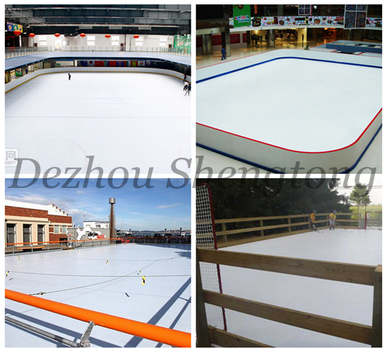 Synthetic Plastic Ice Skating Rink Mats Sheets Buy