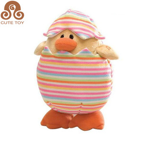 kawaii easter small yellow duck stuffed toys gifts