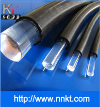 Conventional end light optical fiber