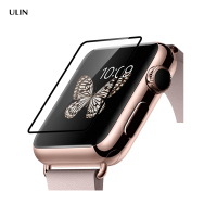 3D Smart Watch 9H Hardness Curved Anti-Fingerprint Tempered Glass Screen Protector Film For Apple Watch 42Mm