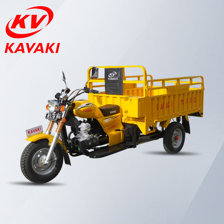 KAVAKI cheap price tricycle rickshaw 200cc motos 3 wheel car/cargo tricycle for sales