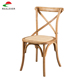 Solid wood antique style wooden cross back chair,crossback chair