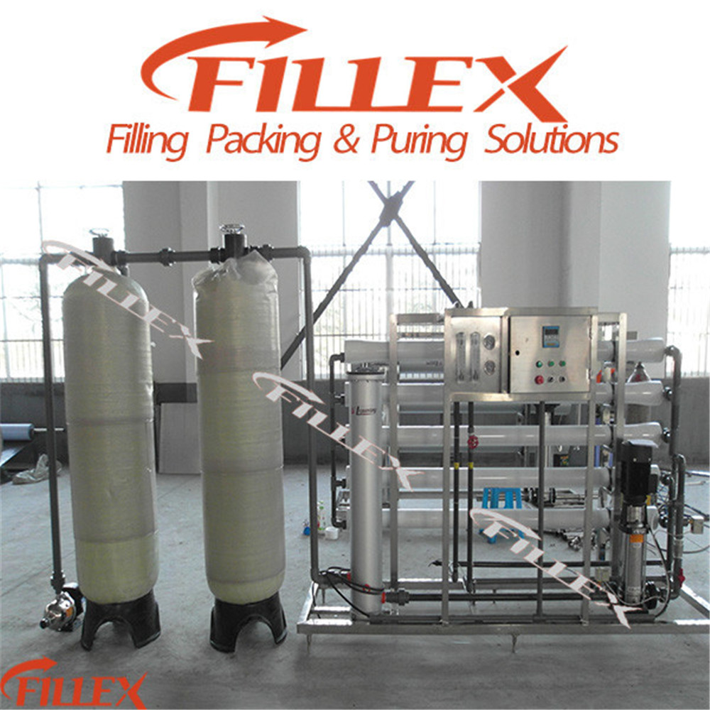 5t/H Pure Water Auto Filter Equipment with RO System
