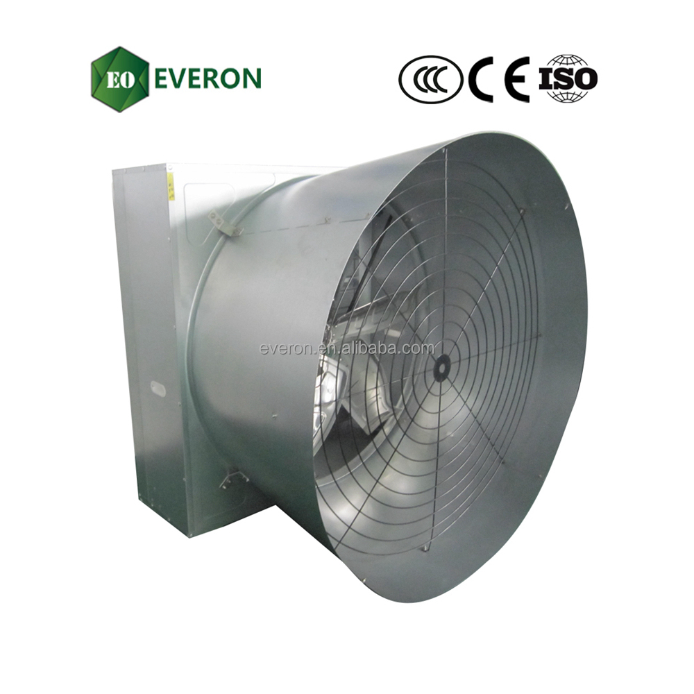 1380 poultry farm butterfly cone louvered exhaust fans
