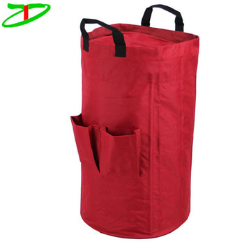 Colorful Heavy Duty Laundry Duffel Bag Waterproof Nylon With Handle