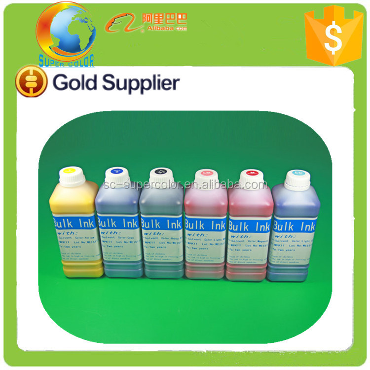 for Mimaki eco solvent white ink bottle , for Roland eco sol max ink eco-solvent ink