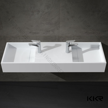 Marvelous Rectangular Drop Bathroom Sink European Sinks