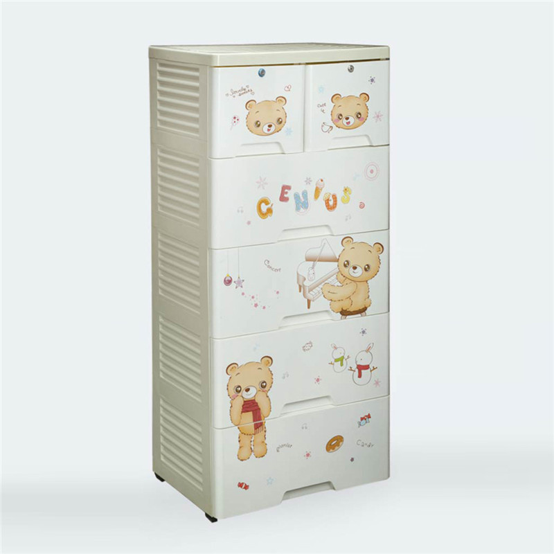 Shantou Plastic Baby Clothes Storage Cupboard For Toys