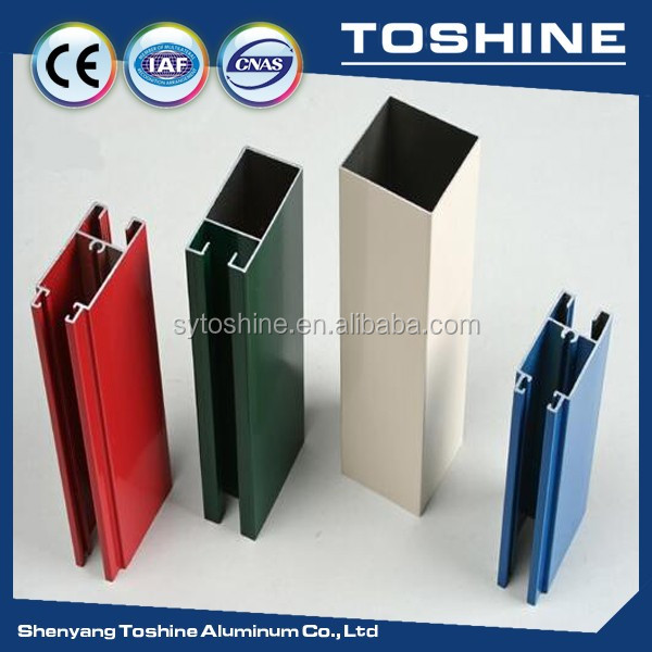 Perfil de aluminio de color para sala limpia perfil de for Colores de perfiles de aluminio