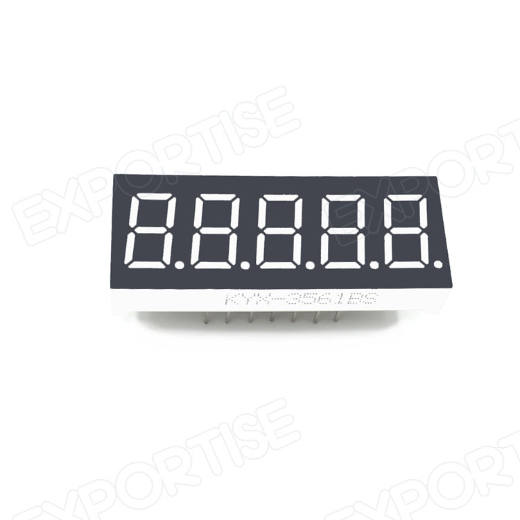 New arrival hot selling 7 segment led panel display 5 digit