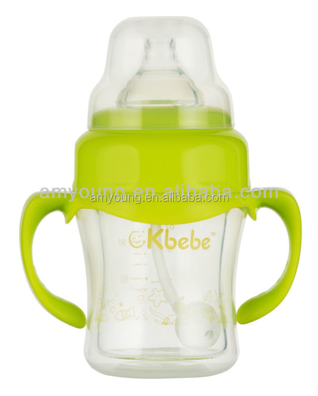 baby products baby food bottles 120 ml wide neck double layer baby food ensure milk baby feeding bottles