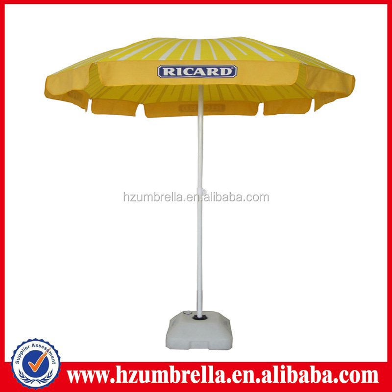 Fashion Strip Ricard High Quality Wholesale Nice Beach Umbrella
