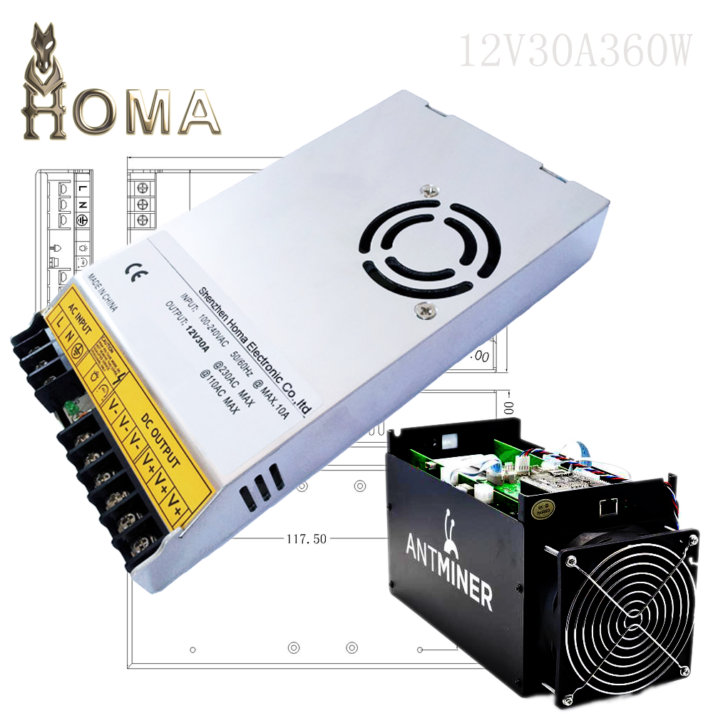 Antminer S9 S5 Power Suply 30A 50A, Fast Speed Digging bitcoins Power Supply