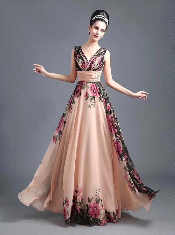 44369a587 como hacer vestidos largos de noche