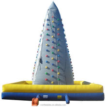 PVC Inflatable wall,inflatable climbing wall, inflatable rockwall for climbing games