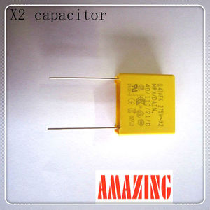 INTERFERENCE SUPPRESSION Polyester Film X1 X2 Capacitor 0.82uf/275v