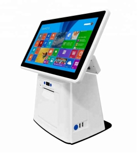 POS system touch screen resistive stock USB integrated card android restaurant POS cash register wcdma pos 58 printer thermal