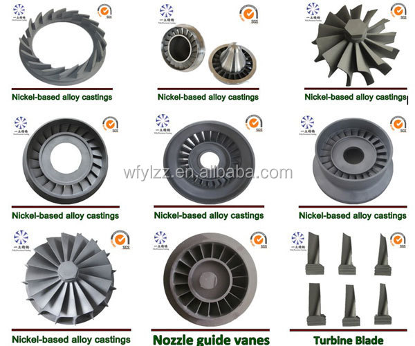 Steam Turbine Engine Turbo Vacuum Casting Turbine Blade