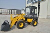 GEM-910 ZL10 hydrostatic MINI wheel loader zero tail swing CE EUROIII