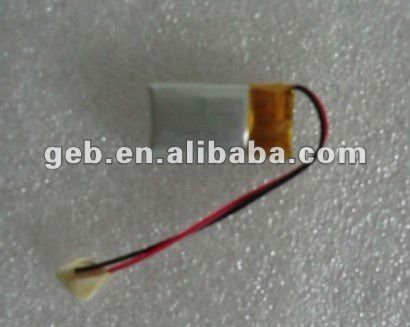 rechargeable Polymer lithium battery 381018 3.7V 35MAH