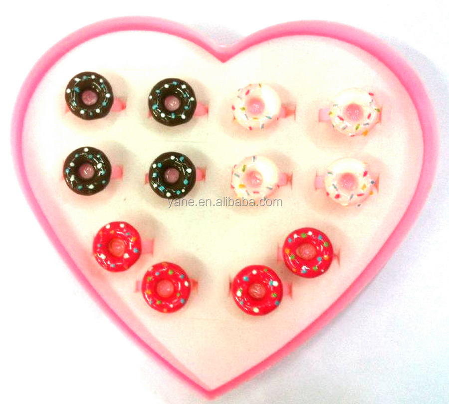 Wholesale jewelry little kids decoration collection fashion ring finger rings