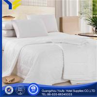 king bed Guangzhou cotton plain cotton quilt cover 100% silk filled duvet